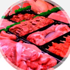 Carnes, Carnicerías y Pollo Crudo